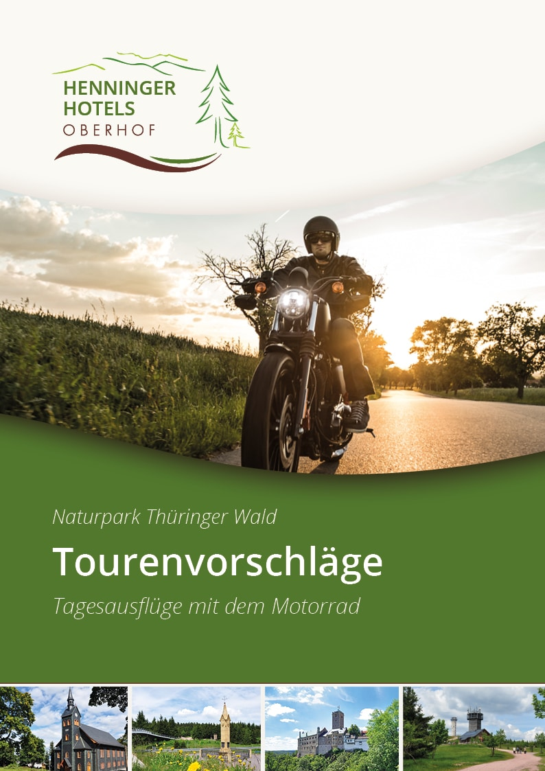 Motorradtouren Broschüre | Motorradurlaub Hotel Oberhof