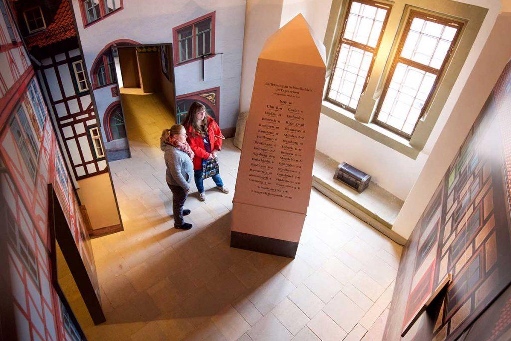 """Schloss Wilhelmsburg Ausstellung """"Schmalkaldischer Bund"""""""
