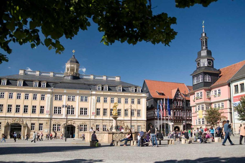 Marktplatz Eisenach | Ausflugstipp Oberhof Hotel Thüringenschanze