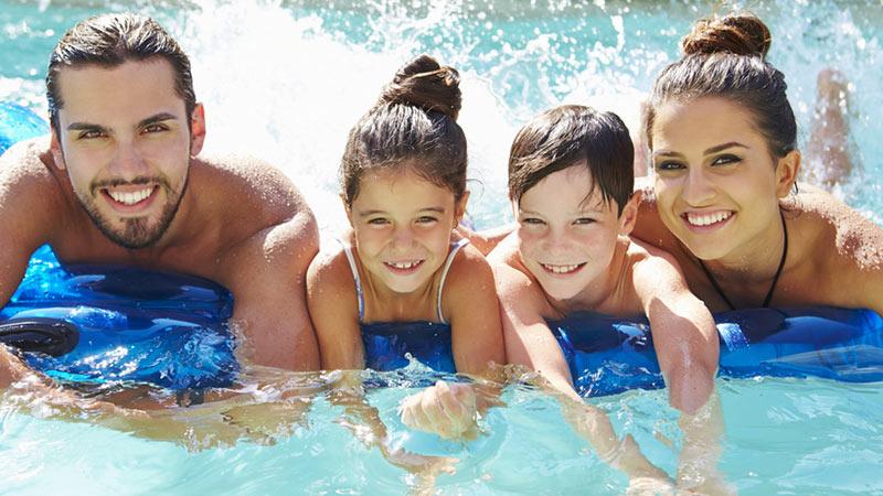Familienurlaub in Oberhof, Schwimmen | Urlaub in Oberhof