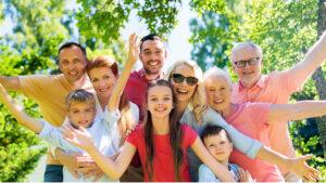 Familie | Symbolbild für Urlaub mit Enkelkindern in Thüringen | Hotel Oberhof buchen