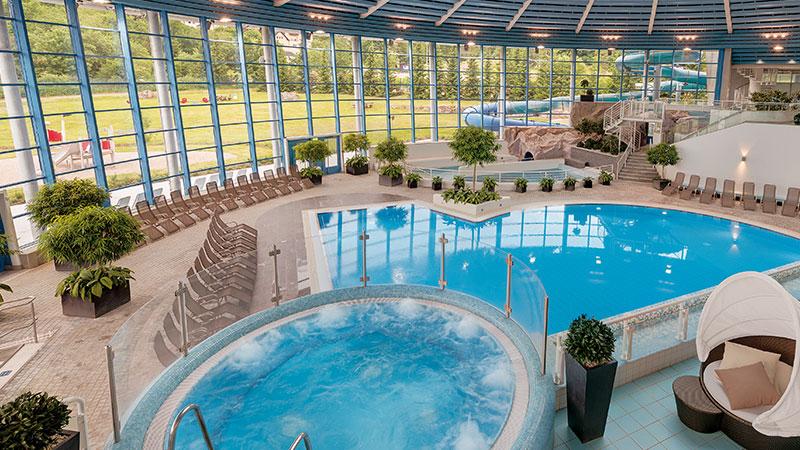 H2Oberhof Wellnessbad Pool | Tipp Hotel in Oberhof