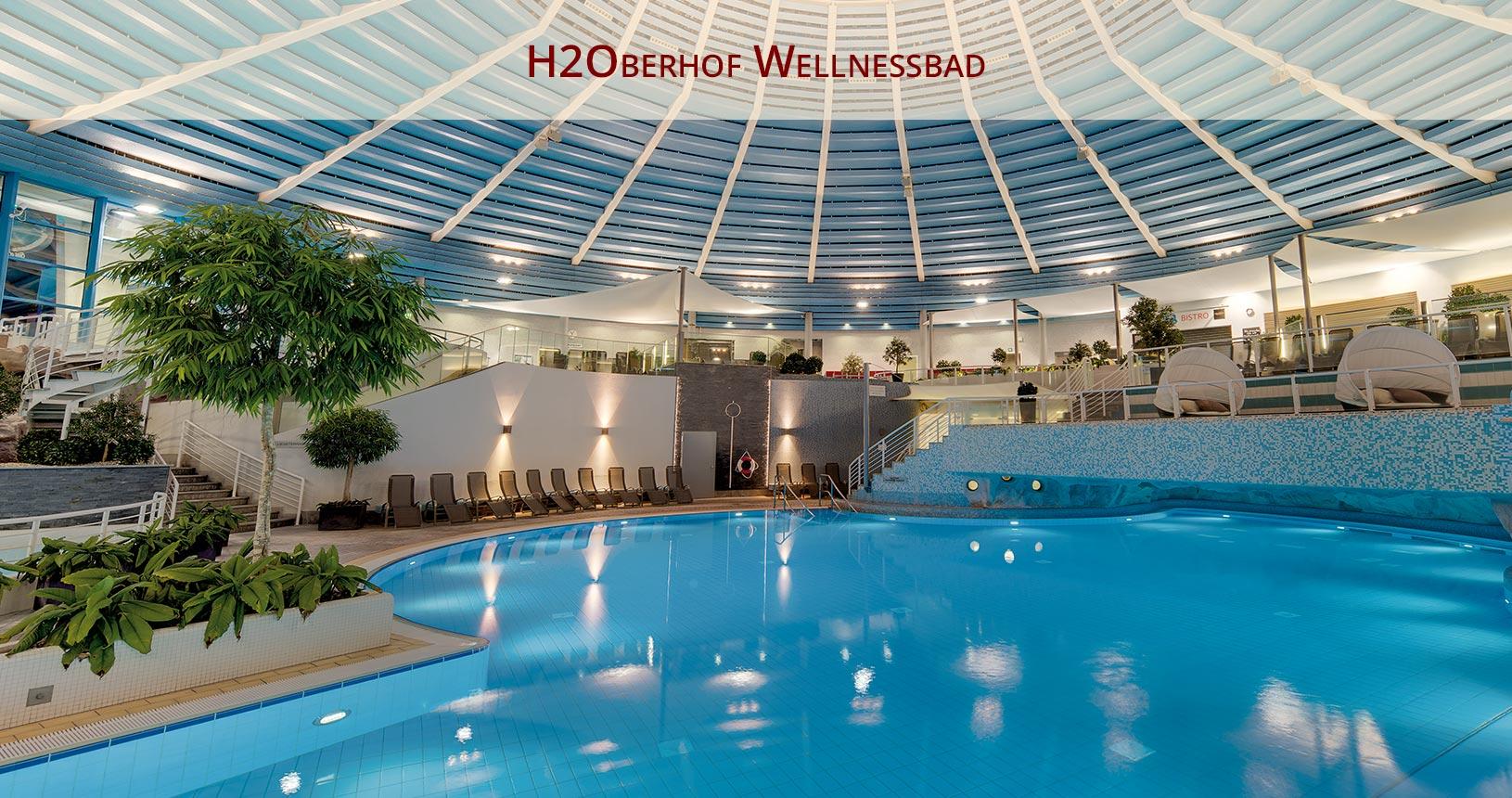H2Oberhof Wellnessbad | Oberhof Hotel Urlaub im Thüringenschanze