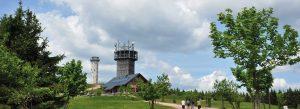 Schneekopf am Rennsteig im Thüringer Wald | Urlaub in Oberhof