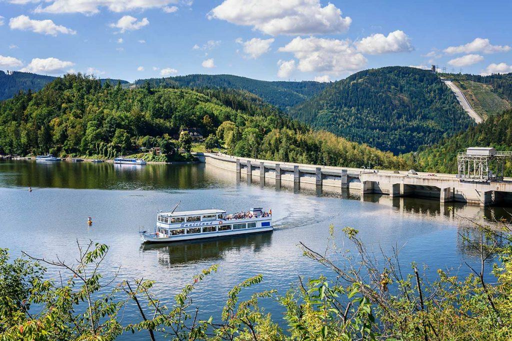 Hohenwarte Stausee Fahrgastschiffahrt
