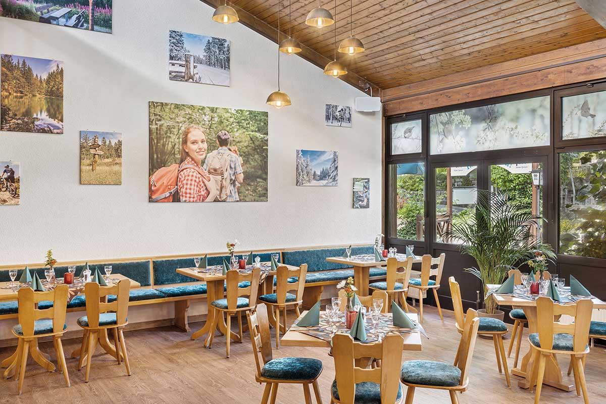 Oberhof Hotel Thüringenschanze - Blick in das Restaurant