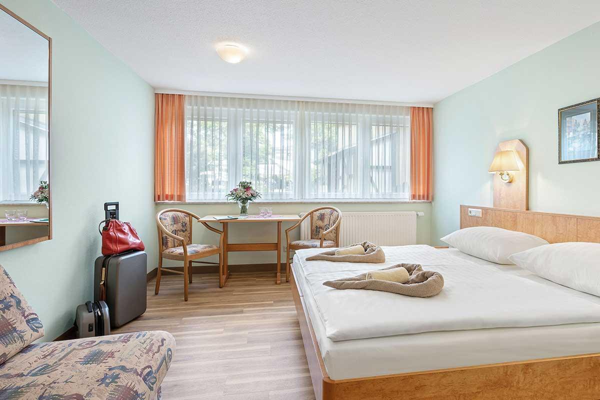 Oberhof Hotel Thüringenschanze - Hotelzimmer Standard