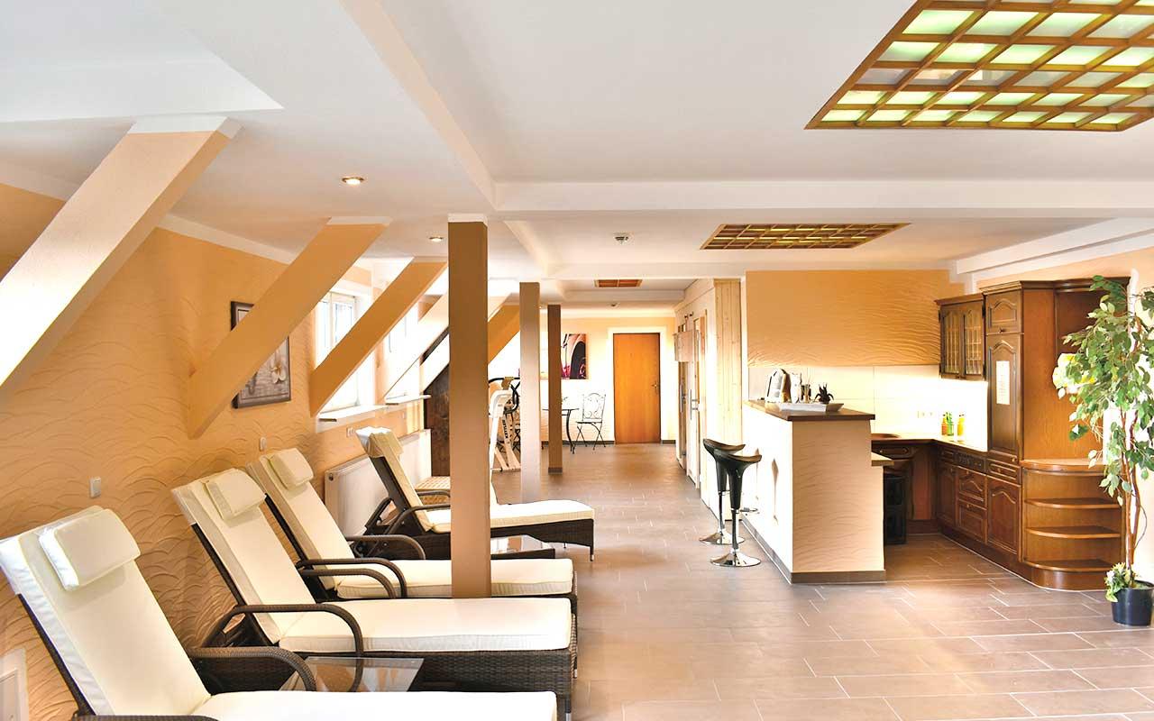 Saunabereich Hotel Thüringenschanze, Hotel in Oberhof buchen