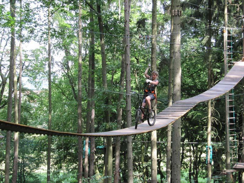 Kletterpark Tabarz | Ausflugstipp Hotel Oberhof