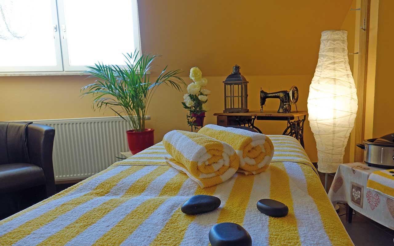 Massageraum im Hotel Thüringenschanze Oberhof | Oberhof Hotel Urlaub im Thüringenschanze