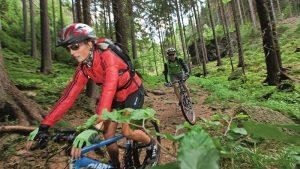 Mountainbike Trail im Thüringer Wald | Urlaub in Oberhof buchen