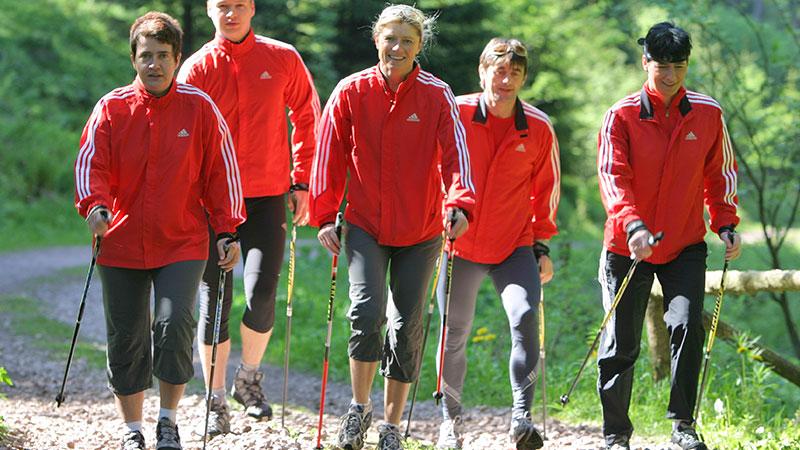Nordic Walking im Thüringer Wald bei Oberhof | Oberhof Hotel Urlaub im Thüringenschanze