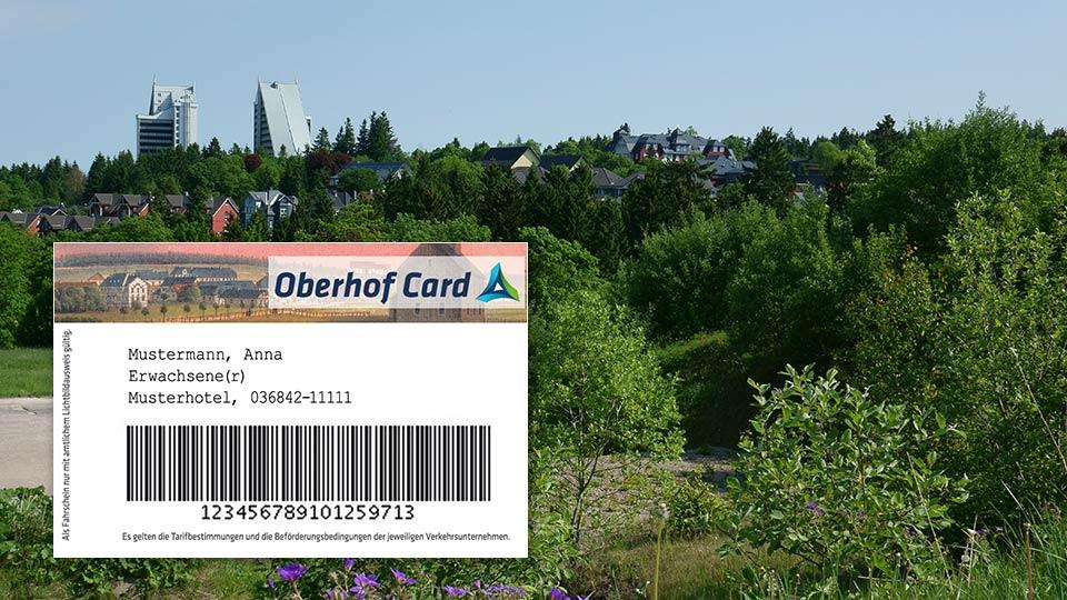 Collage Oberhof Card | Urlaub in Oberhof | Oberhof Hotel Urlaub im Thüringenschanze