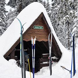 Schutzhütte Axel am Rennsteig Winterurlaub | Hotel in Oberhof buchen