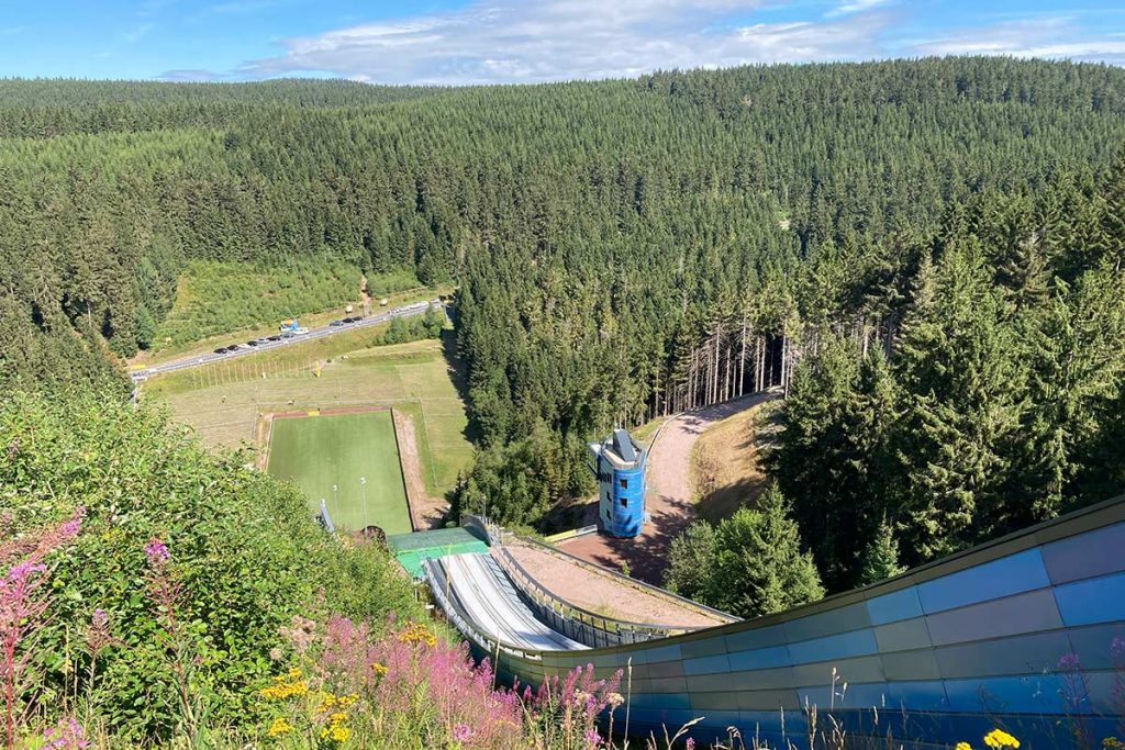 Oberhof, Skischanze am Kanzlersgrund | Wandertipp Hotel Oberhof