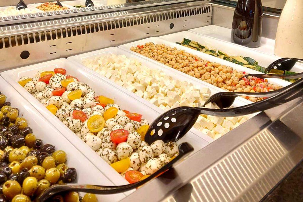 Restaurant Oberhof im Thüringenschannze, Buffet