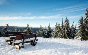 Schneekopf bei Oberhof im Winter | Winterurlaub Oberhof