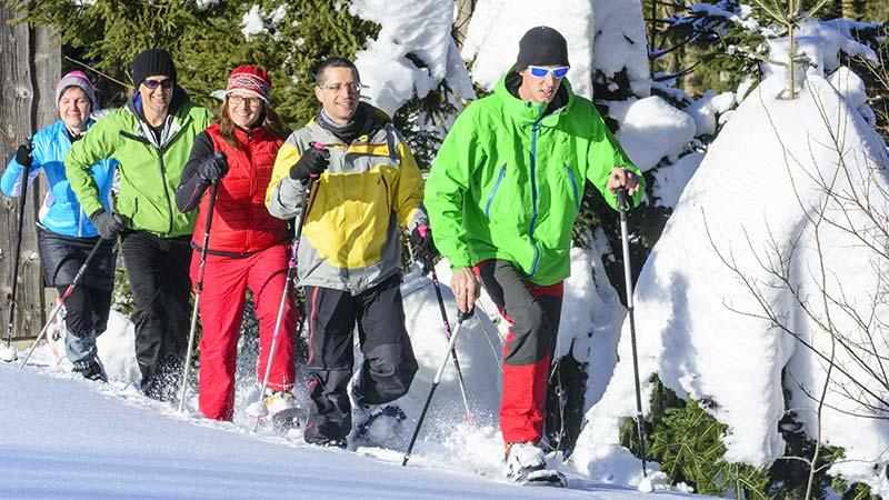 Bild für Schneeschuhwanderung Winterurlaub im Thüringer Wald