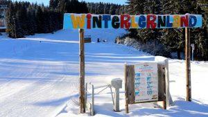 Skischule in Oberhof. Winterlernland am Fallbachlift | Oberhof Hotel Urlaub im Thüringenschanze