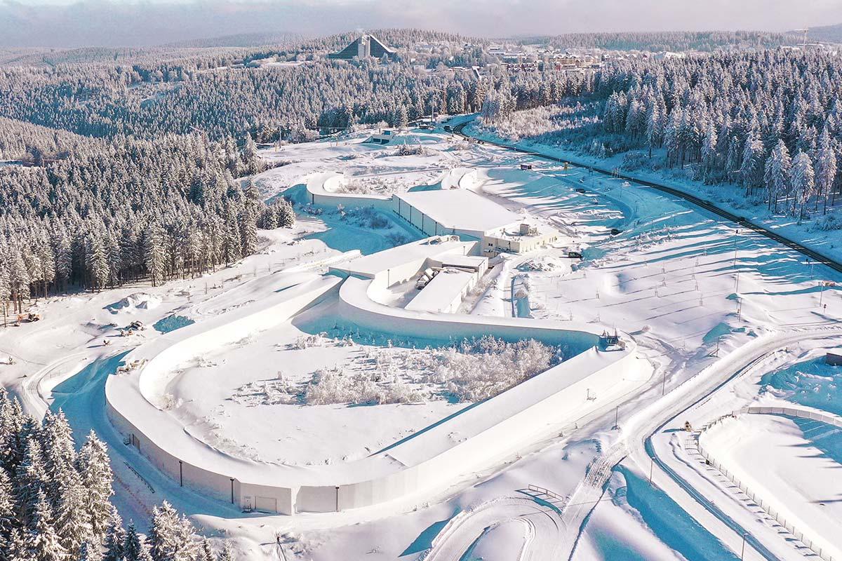 Skisport Halle Oberhof 2020