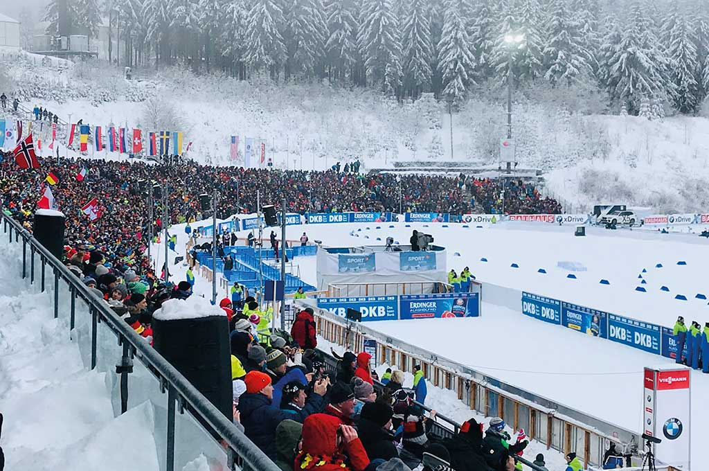 Sportstätten Oberhof, Biathlon | Oberhof Hotel Urlaub im Thüringenschanze