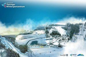 Sportstätten Oberhof Collage