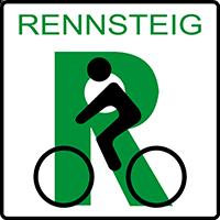 Symbol Rennsteig Radweg