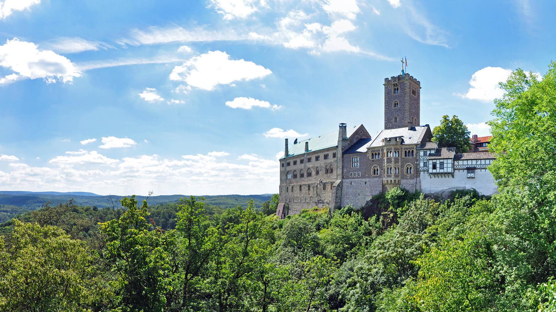 Thüringen, Wartburg in Eisenach | Oberhof Hotel Urlaub im Thüringenschanze