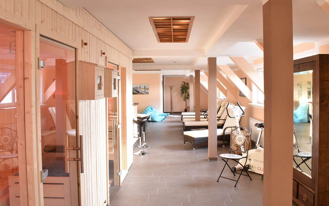 Sauna und Wellness im Hotel Thüringenschanze | Hotel in Oberhof buchen