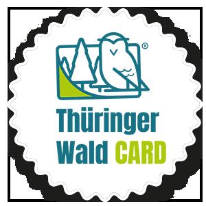 Thüringerr Wald Card Badge