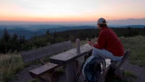 Wandern Rast im Thüringer Wald | Hotel Oberhof buchen