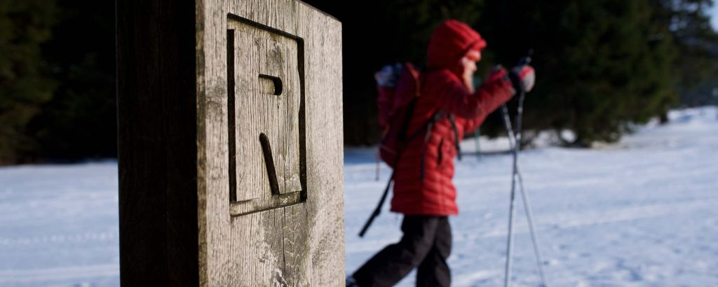 Winterurlaub in Oberhof, Langlauf am Rennsteig | Oberhof Hotel Urlaub im Thüringenschanze